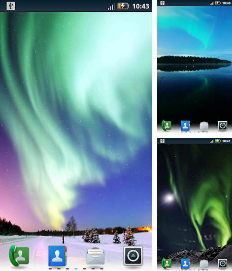 In addition to live wallpaper The Nebulander for Android phones and tablets, you can also download Northern lights for free.