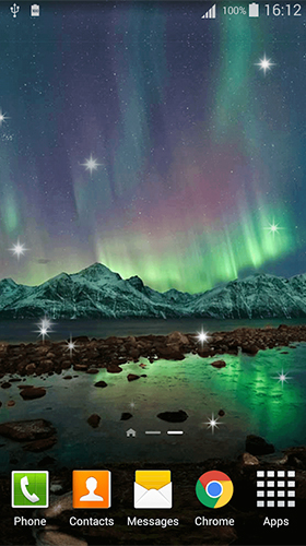Northern lights by Dream World HD Live Wallpapers