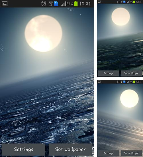 In addition to live wallpaper Gothic for Android phones and tablets, you can also download Ocean at night for free.