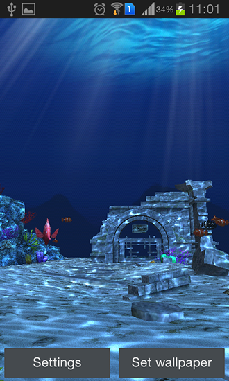 Screenshots of the Ocean by Linpus technologies for Android tablet, phone.