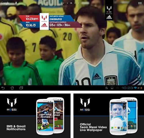 Download live wallpaper Official Messi for Android. Get full version of Android apk livewallpaper Official Messi for tablet and phone.