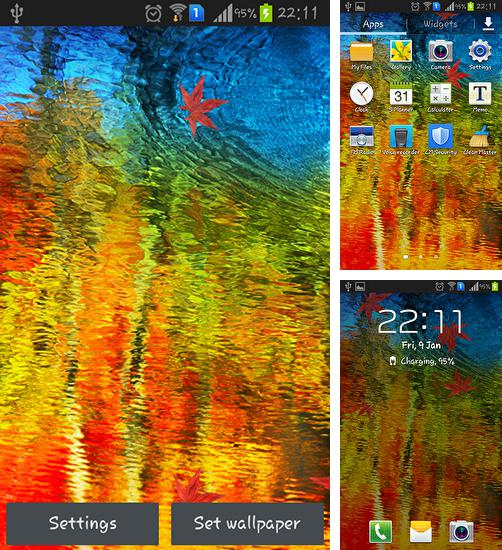 In addition to live wallpaper Sailboat for Android phones and tablets, you can also download Oil painting for free.