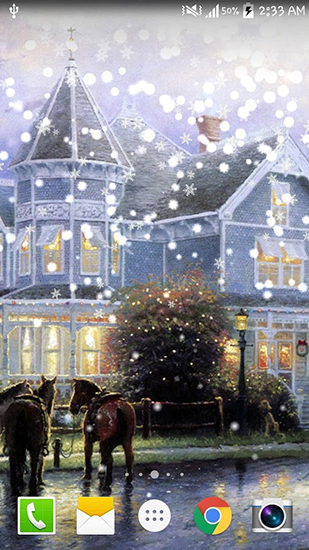 Download Painted Christmas - livewallpaper for Android. Painted Christmas apk - free download.