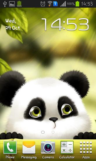 descargar panda para android gratis el fondo de pantalla animados