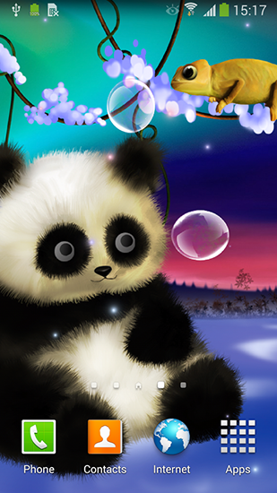 panda by live wallpapers 3d live wallpaper for android