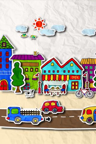 Screenshots von Paper town für Android-Tablet, Smartphone.