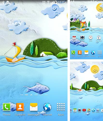 Download live wallpaper Paper world by Live Wallpapers 3D for Android. Get full version of Android apk livewallpaper Paper world by Live Wallpapers 3D for tablet and phone.