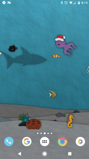 Screenshots of the Papersea for Android tablet, phone.