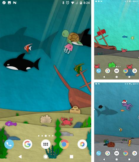 Download live wallpaper Papersea for Android. Get full version of Android apk livewallpaper Papersea for tablet and phone.