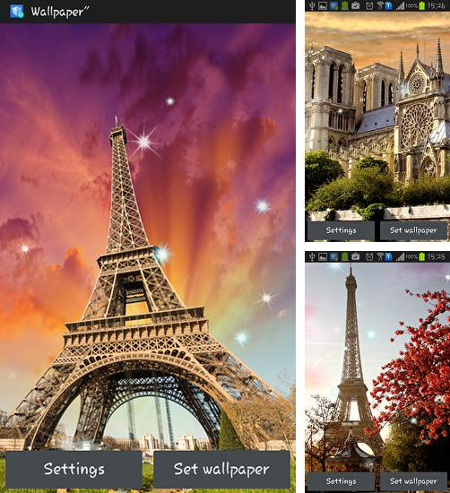 In addition to live wallpaper Water drops by Top Live Wallpapers for Android phones and tablets, you can also download Paris for free.