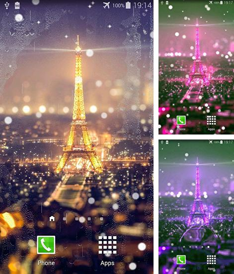 In addition to live wallpaper Mantaray for Android phones and tablets, you can also download Paris night for free.