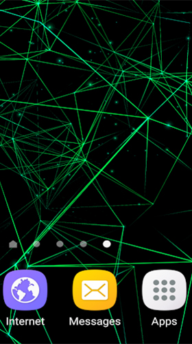 Screenshots of the Particle 3D for Android tablet, phone.