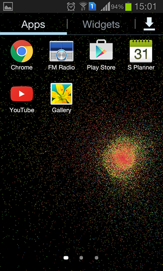 Download Particle flow - livewallpaper for Android. Particle flow apk - free download.