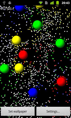 Screenshots von Particle mix für Android-Tablet, Smartphone.
