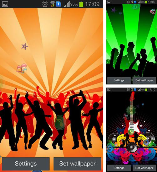 In addition to live wallpaper Zoo: Leopard for Android phones and tablets, you can also download Party for free.