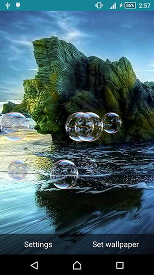 Peaceful live wallpaper for Android. Peaceful free ...
