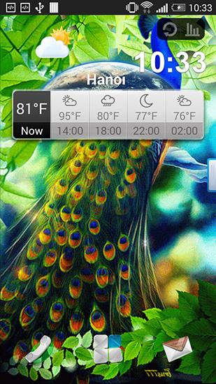 Download livewallpaper Peacock for Android. Get full version of Android apk livewallpaper Peacock for tablet and phone.