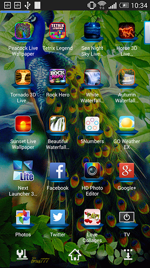 Download Peacock - livewallpaper for Android. Peacock apk - free download.