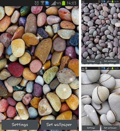 In addition to live wallpaper Love by Aquasun live wallpaper for Android phones and tablets, you can also download Pebbles for free.