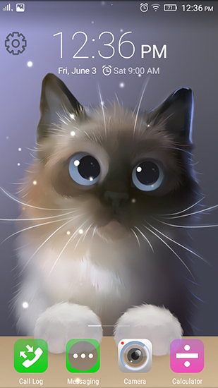 Download livewallpaper Peper the kitten for Android. Get full version of Android apk livewallpaper Peper the kitten for tablet and phone.