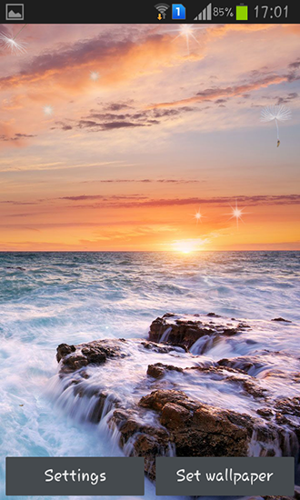 Download livewallpaper Perfect sunset for Android. Get full version of Android apk livewallpaper Perfect sunset for tablet and phone.