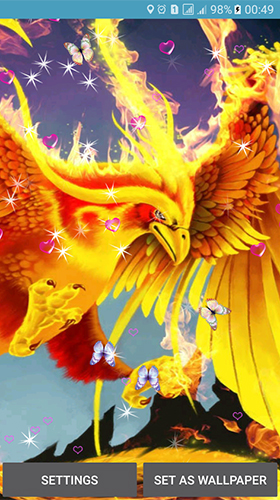 Phoenix By 3d Top Live Wallpaper Live Wallpaper For Android Phoenix