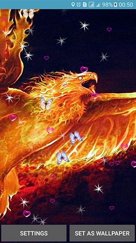 Phoenix By 3d Top Live Wallpaper Für Android Kostenlos