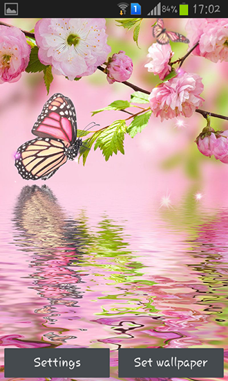 Download Pink flowers - livewallpaper for Android. Pink flowers apk - free download.