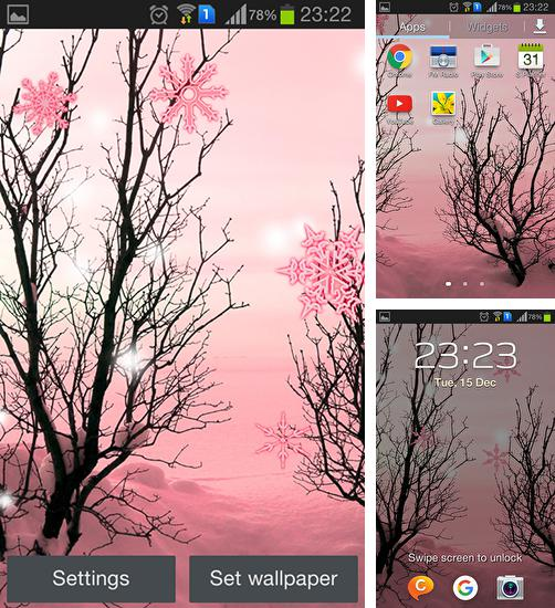 In addition to live wallpaper London by HQ Awesome Live Wallpaper for Android phones and tablets, you can also download Pink winter for free.