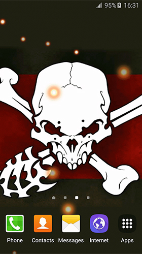 Download livewallpaper Pirate flag for Android. Get full version of Android apk livewallpaper Pirate flag for tablet and phone.