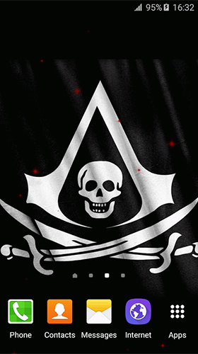Download Pirate flag - livewallpaper for Android. Pirate flag apk - free download.