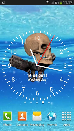 Download livewallpaper Pirate skull for Android. Get full version of Android apk livewallpaper Pirate skull for tablet and phone.