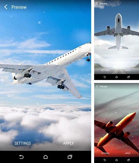 In addition to live wallpaper Mountain summer for Android phones and tablets, you can also download Planes for free.