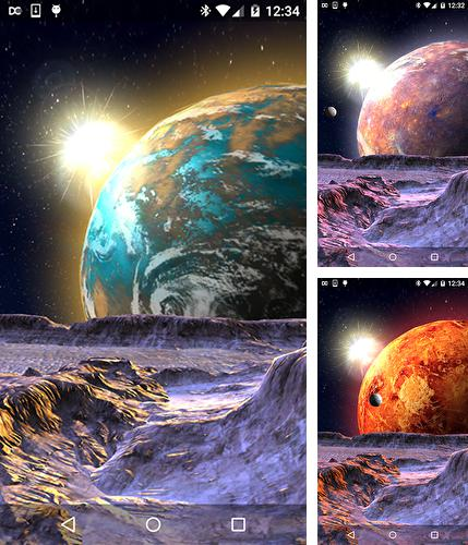In addition to Planet X 3D live wallpapers for Android, you can download other free