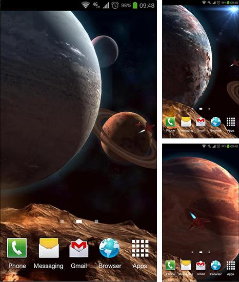 Download live wallpaper Planetscape 3D for Android. Get full version of Android apk livewallpaper Planetscape 3D for tablet and phone.