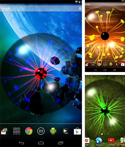 Download live wallpaper Plasma orb for Android. Get full version of Android apk livewallpaper Plasma orb for tablet and phone.