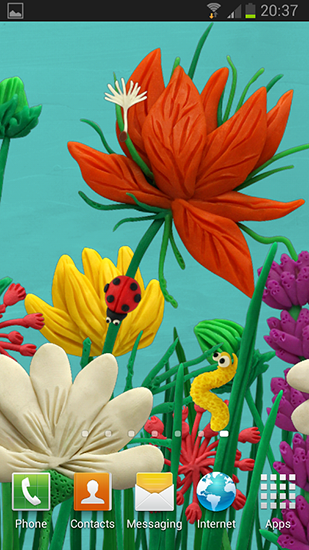 Download Plasticine spring flowers - livewallpaper for Android. Plasticine spring flowers apk - free download.