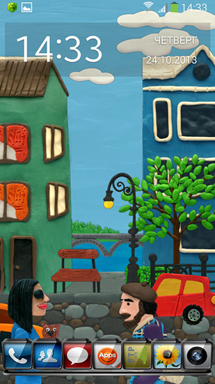 Download Plasticine town - livewallpaper for Android. Plasticine town apk - free download.