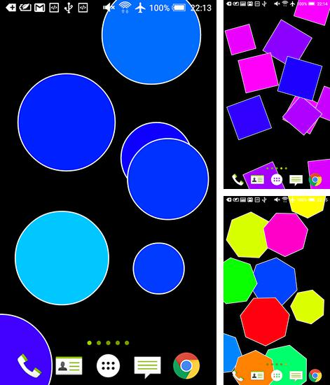 In addition to Polygon live wallpapers for Android, you can download other free Android live wallpapers for Cubot X17.