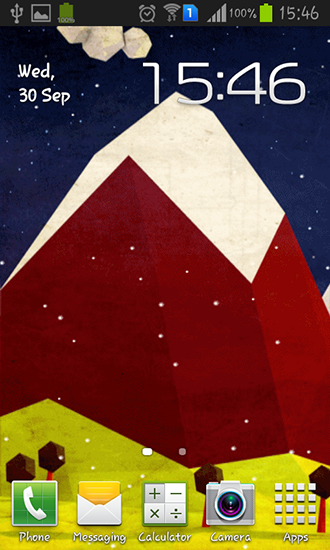 Download livewallpaper Polygon hill for Android. Get full version of Android apk livewallpaper Polygon hill for tablet and phone.