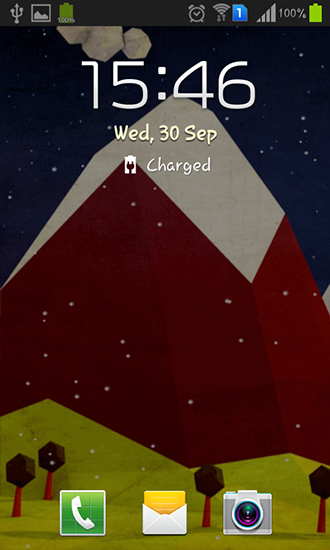 Screenshots of the Polygon hill for Android tablet, phone.