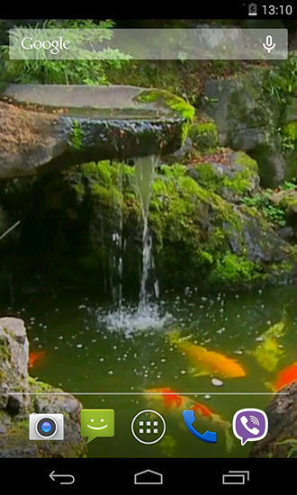 pond with koi live wallpaper for android pond with koi free