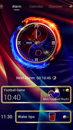 Kostenloses Android-Live Wallpaper Power Go Uhr. Vollversion der Android-apk-App Power go сlock für Tablets und Telefone.