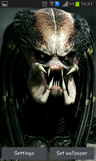 Screenshots of the Predator 3D for Android tablet, phone.