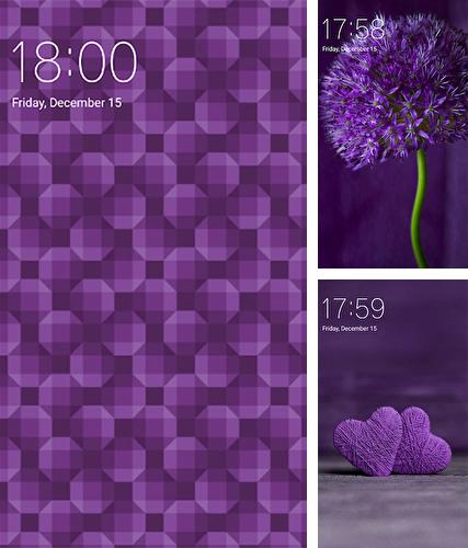 Download live wallpaper Purple for Android. Get full version of Android apk livewallpaper Purple for tablet and phone.