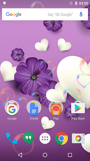 Download Purple and pink love - livewallpaper for Android. Purple and pink love apk - free download.