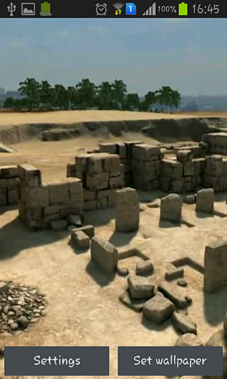 Screenshots of the Pyramids 3D for Android tablet, phone.