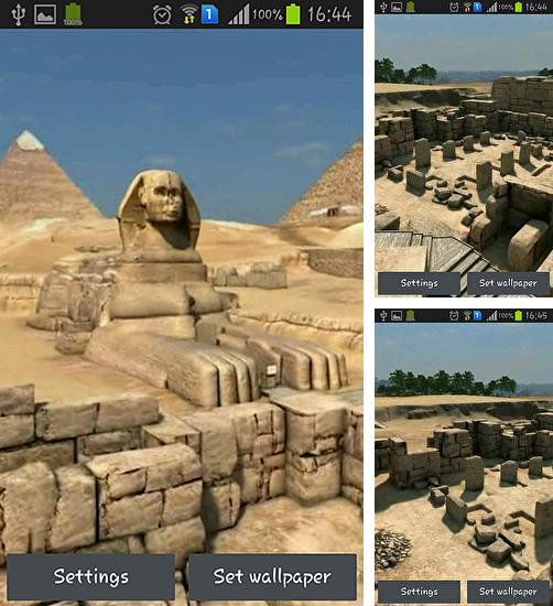 In addition to live wallpaper Magic by Art LWP for Android phones and tablets, you can also download Pyramids 3D for free.
