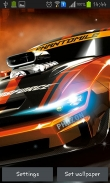 Racing cars - download free live wallpapers for Android. Racing cars full Android apk version for tablets and phones.