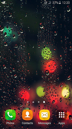 Rain by My live wallpaper